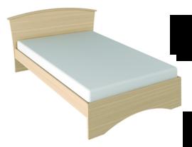 Кровать двуспальная Джулия с металлооснованием 1400
