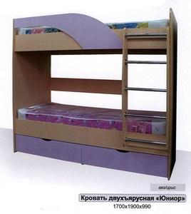 """Кровать двуярусная """"Юниор"""""""