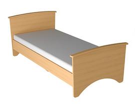 Кровать односпальная Милан