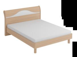 Кровать двухспальная София с металлооснованием